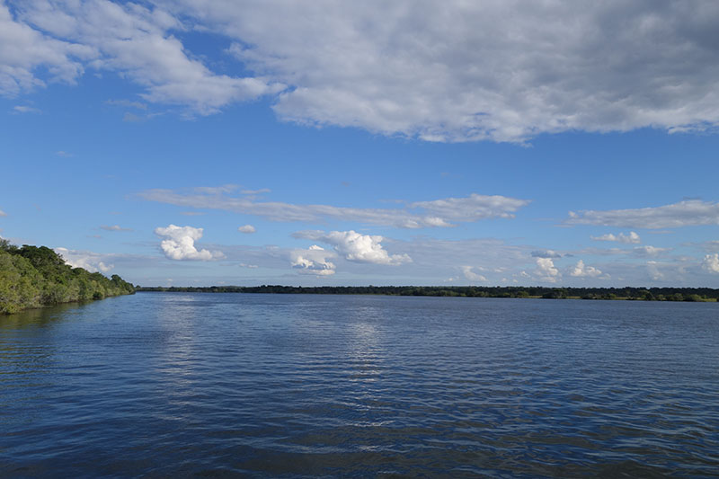 Kafue River the artery of the park