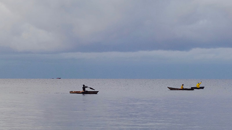 Early Morning fishing in Lake Tanganyika