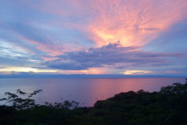 Sunset over the Lake in Kigoma