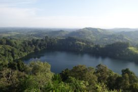 Crater Lake in Western Uganda