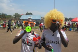 Kampala Football match