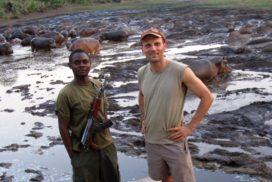 Hippos Katavi river