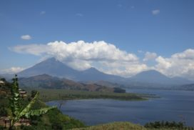 Mgahinga, Sabinyo and Muhavura volcanoes