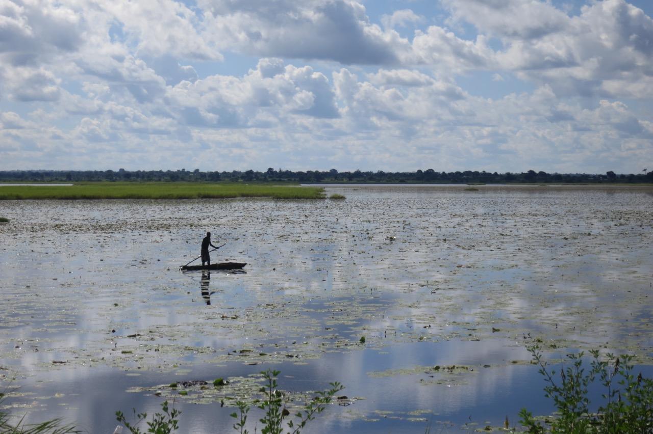 Fisherman on Lake Nabugabo