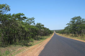 Northern Zambia's long open roads