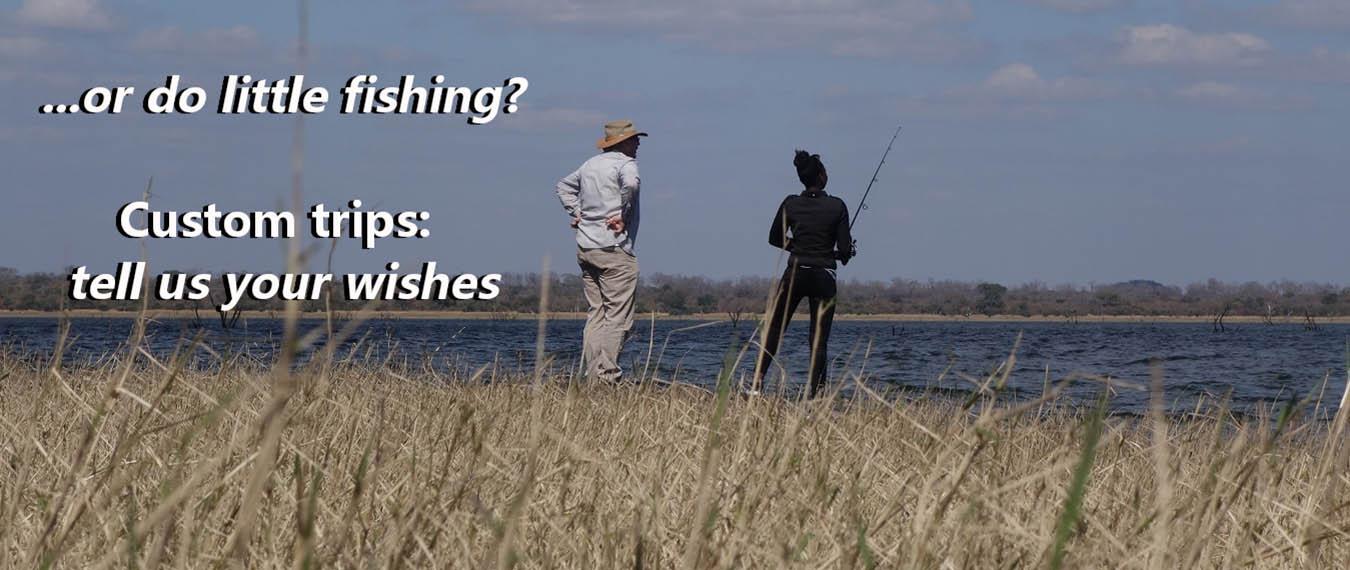 Fishing in Custom Trips