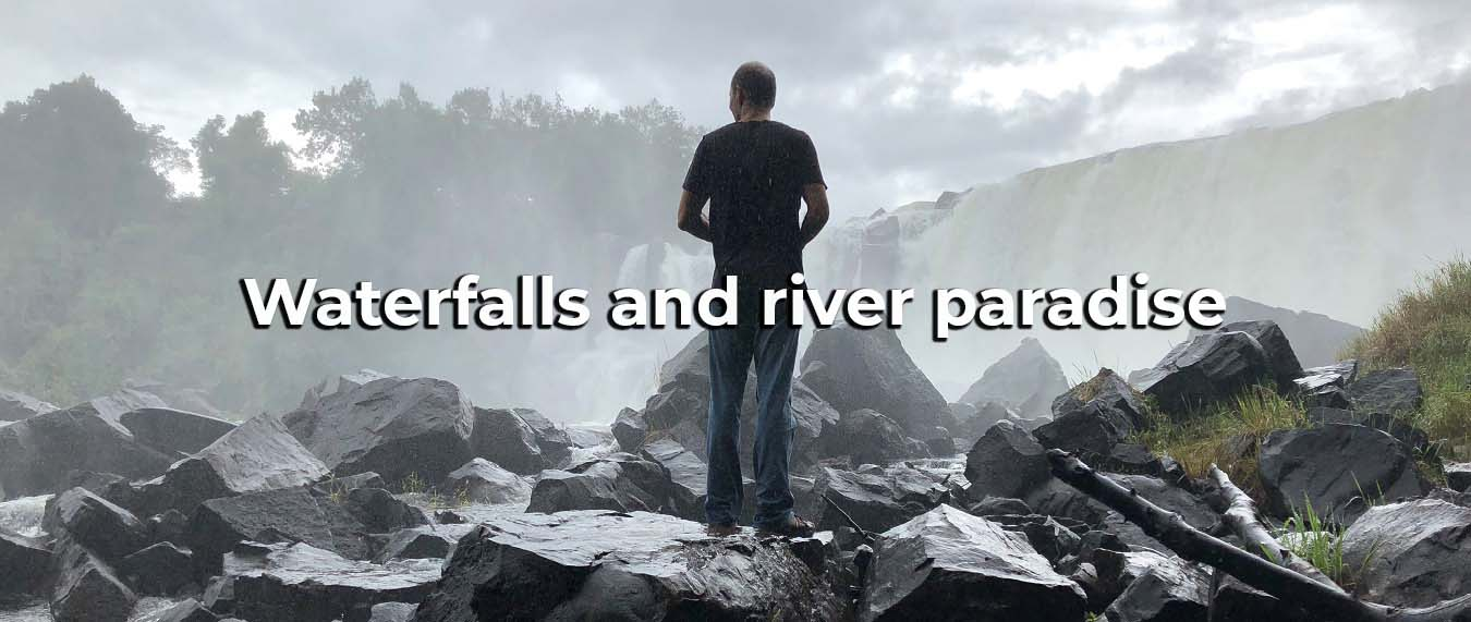 Waterfalls and River Paradise Clutch Adventures