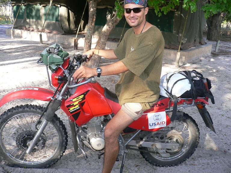 Ride in Liuwa Plain