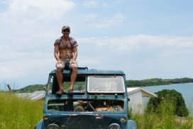 Trying to drive an old truck